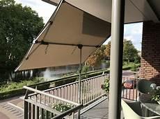 rechteckiger sonnenschirm balkon sonnenschirm rechteckig