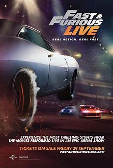 Fast Furious Live - fast furious live posters and trailer revealed