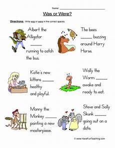 verbs worksheets have fun teaching