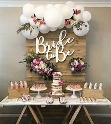 stunning rustic bridal shower dessert table set up in 2019