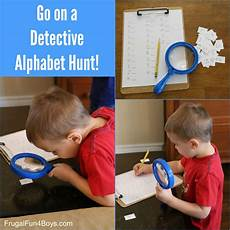 spelling detective worksheets 22361 go on a detective alphabet hunt a letter learning activity for preschoolers letter learning