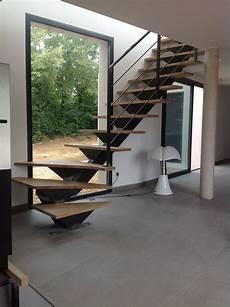 escalier moderne quart tournant escalier m 233 tallique quart tournant 224 verg 232 ze escalier