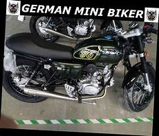 German Mini Biker - gmb rocket 125 racing edition racing green kaufen