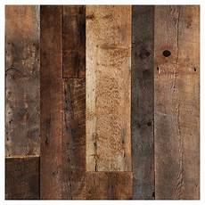Bois Mural Intérieur Mur Design Barn Wood Look Wall Panel 48 Quot X 96 Quot Brown