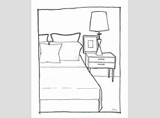 rachel may designs: Bedroom Sketch