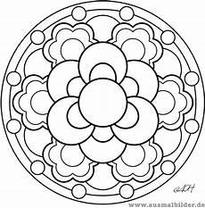Malvorlage Blumen Mandala Blumen Mandalas Blumen Ausmalbilder Ausmalbilder