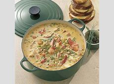 lobster  and chive bisque_image