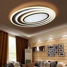 Led Wohnzimmer Deckenleuchte - dimming remote modern led ceiling lights for