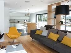 salon gris jaune recherche design living room
