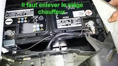 le sur batterie ou se trouve la batterie sur volkswagen touareg