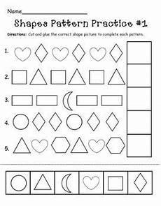patterns worksheets for toddlers 261 shapes pattern practice page pattern worksheet math patterns shape patterns