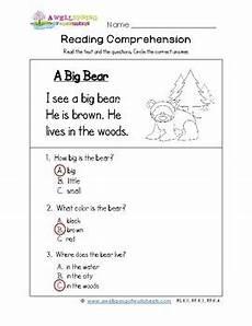 worksheets reading comprehension 18439 kindergarten reading comprehension worksheets by a wellspring of worksheets