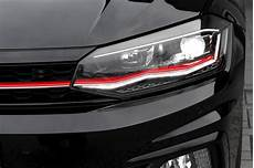 Led Headlights With Daytime Running Lights For Vw Polo Aw1