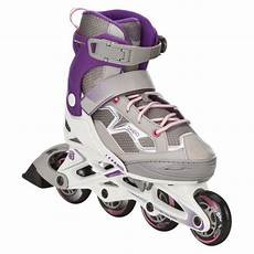 oxelo fit 3 junior fitness inline skates white