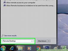 remote desktop windows 7 how to use remote desktop in windows 7 with pictures