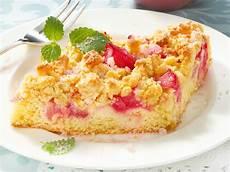 Rhabarberkuchen Mit Pudding Und Streusel - rhabarberkuchen mit streuseln das rezept f 252 r den
