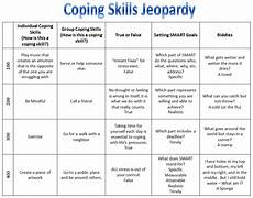 50 coping skills worksheet gallery for coping skills for