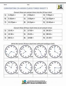 time worksheet calculator 2948 24 hour clock conversion worksheets