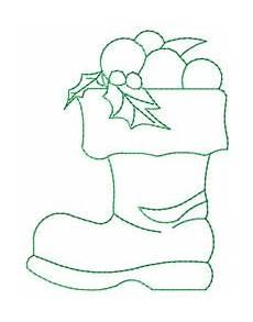 santa boot embroidery designs machine embroidery designs