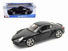 Porsche Cayman S Black 1 18 Diecast Model Car By Maisto
