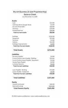 financial statement basics for artists balance sheet art marketing and business by neil