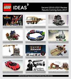 lego ideas review results expected later today brickset