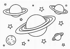 free printable planet coloring pages for