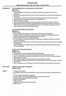 child and youth worker description for resume mt