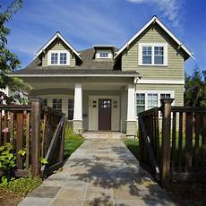 benjamin raintree green with some yellow added craftsman exterior house exterior