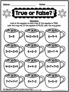 winter worksheets for grade 1 20001 winter no prep math printables for 1st grade firstgradefaculty math