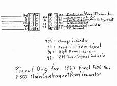 1967 f100 wiring diagram turn signals and brake lights dont work ford truck enthusiasts forums