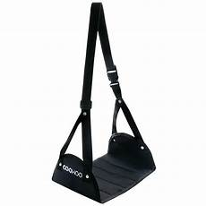folding travel footrest hammocks adjustable office flight feet foot rest black ebay