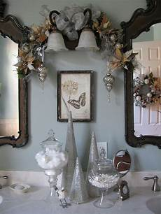 bathroom decorating ideas for going all out again this year including guest bathroom shower curtain rug towels and