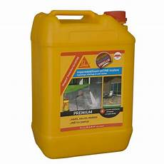 hydrofuge pour terrasse imperm 233 abilisant sika sikagard 5 l incolore leroy merlin