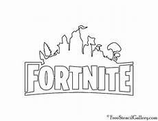 Jungs Malvorlagen Quotes Fortnite Logo 02 Schablone In 2020 Birthday