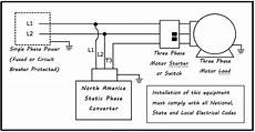 phase converter wiring diagram static phase converter electronic phase converter
