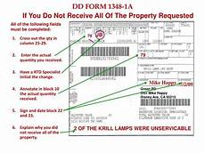 ppt dd form 1348 1a issue release receipt document