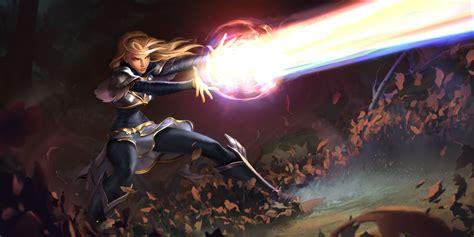 League Of Legends Lux Wallpaper