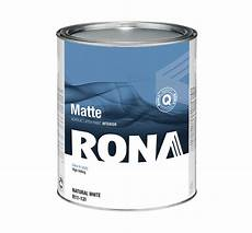 interior acrylic paint matte finish natural white rona