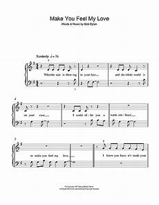 make you feel my love sheet music by adele 5 finger piano 49417
