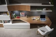 libreria con scrivania integrata parete attrezzata 702 napol arredamenti