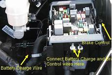 troubleshooting no power brake controller after install a 2016 chevy silverado 1500