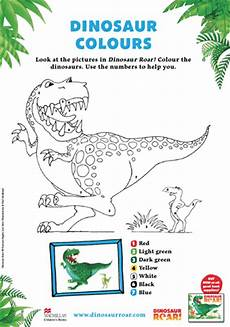 dinosaur roar worksheets 15365 book inspired colouring pages for