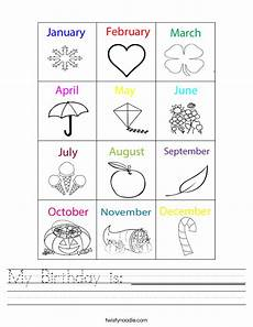 my birthday worksheets 20221 my birthday is worksheet twisty noodle
