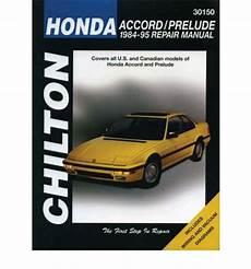 free auto repair manuals 1986 honda prelude security system honda accord and prelude 1984 95 workshop manual workshop car manuals repair books