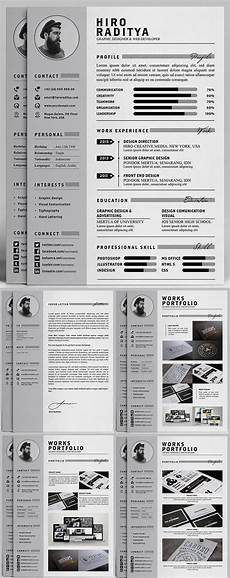 professional cv template bundle cv package with cover letters for ms word modern cv design