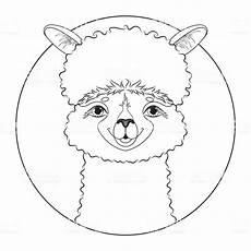 Malvorlagen Kostenlos Lama Malvorlage Alpaka Coloring And Malvorlagan