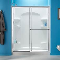 Modular Bathroom Kits by Sterling Plumbing 72220106 0 Ensemble 34 Inch X 48 Inch X