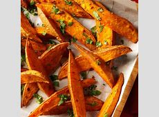curried sweet potato wedges_image