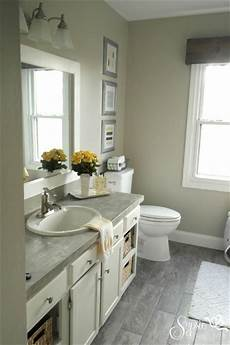 beautiful builder grade bathroom makeover on a budget tons of easy update ideas culture scribe